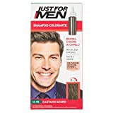 Just for Men Shampoo Colorante, H45 – Castano Scuro, Shampoo Colorante per Uomo (Nuova Formula)