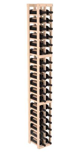 Wine Racks America Pine 2 Column Wine Cellar Kit. Unstained