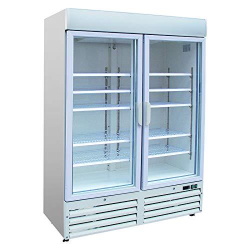 Armoire réfrigérée vitrée 920 litres - Négative - Combisteel - R290 2 Portes Vitrée