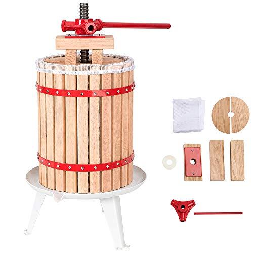 Hengda® 18 Liter Obstpresse Presse Obstpresse Saft Weinpresse Beerenpresse Apfelpresse Maischepresse mit Presstuch