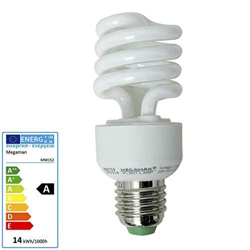 IDV Energiesparlampe 14 W E27 230 V, Pflanzenlampe ESL, 1750447