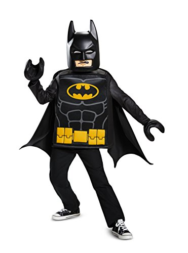 Disguise Batman Lego Movie Classic Costume, Black, Small (4-6)