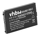 vhbw Li-Ion Batteria 900mAh (3.7V) per cellulari e smartphone Medion MD2201, MD97100, MD97200, Telecom Italia Aladino Flip sostituisce LP043450A.