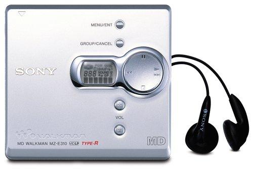 Sony MZ-E310/S Tragbarer MiniDisc Walkman silber