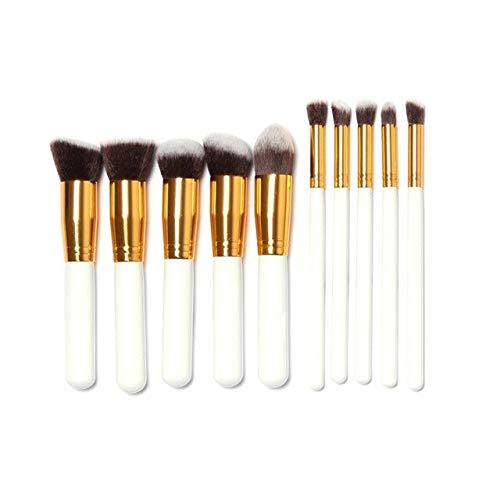 MEISINI Ombre à sourcils douce cosmétique douce d'oeil plate fondation de pinceau fard à joues fard à paupières maquillage kit de brosse