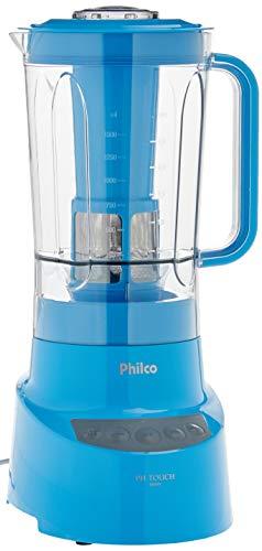 Liquidificador, Ph Touch, 2,7L, Azul, 220V, Philco