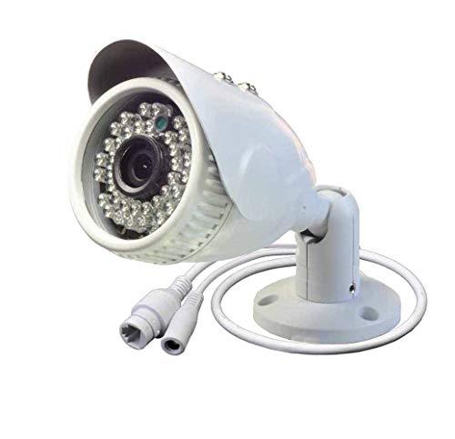 POE IP Camera 2.0mp Impermeabile IP Camera 2MP Sicurezza H.265 Grandangolare Telecamera di Rete Esterna POE Sorveglianza ONVIF Grandangolare 2.8mm Lente fissa CCTV Cam