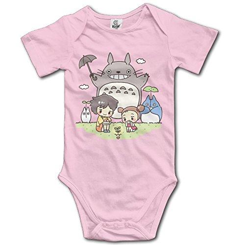 Ogbcom - Mono de manga corta para bebé, diseño de Mi vecino Totoro