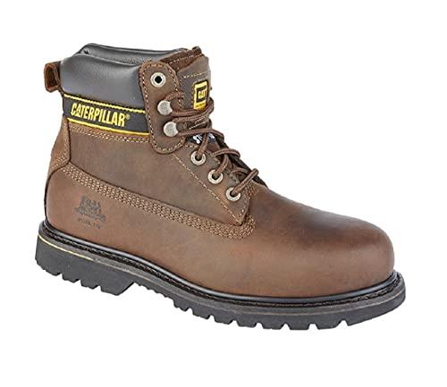 Holton - Botas de seguridad, color marrón, Brown, 43 EU