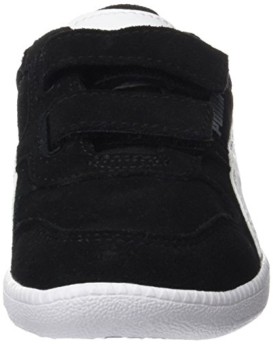Puma Unisex-Kinder Icra Trainer SD V PS Sneaker, Schwarz Black-White - 3