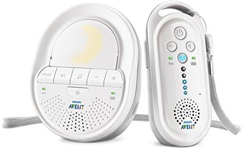 Philips Avent SCD506/26 - Vigilabebés digital con tecnología DECT, Smart ECO, recargable
