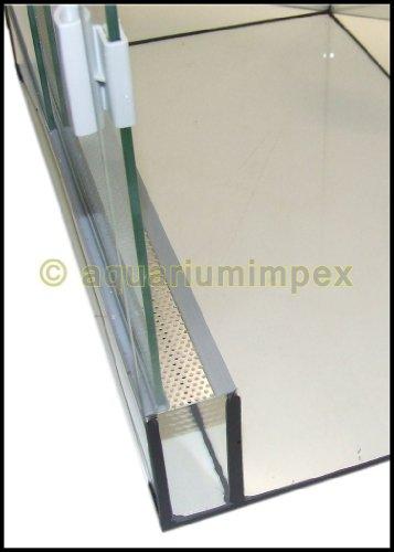 Glas Terrarium mit Belüftung 30x25x25 cm 30 25 - 3
