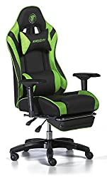Snakebyte Universal Premium Gaming: SEAT - Chair - Racing Chair - for gaming sessions - green / black