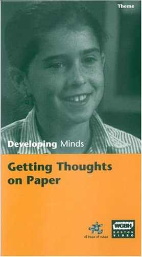 Developing Great interest Minds: Getting Thoughts VHS on Paper Cash special price