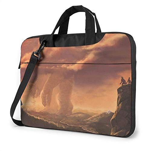 Laptop Shoulder Bag Carrying Laptop Case 15.6 Inch, Canyon Tornadoes Computer Sleeve Cover with Handle