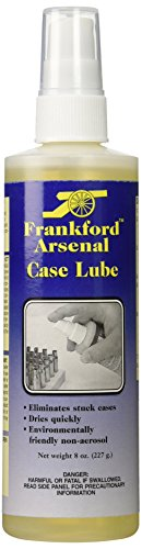 Frankford Arsenal 8 oz. Spray Pump Non-Aerosol Case Lube for Reloading