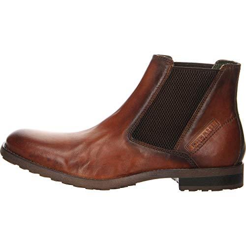 bugatti Herren 311822604100 Klassische Kurzschaft Stiefel Stiefel, Braun, 44 EU