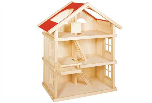 Goki 3 Etagen Puppenhaus aus Holz