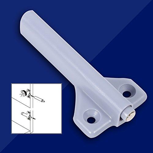 Amortiguador de Puerta Abierta, Caja de ABS de 10 Piezas, bisagra de cajón en Forma de avión, Sistema de Empuje para Abrir, Amortiguador de amortiguación, Captura magnética