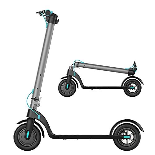 YIZHIYA Patinete Eléctrico, 350W E-Scooter Plegable para Adultos con Pantalla LCD, Sistema...