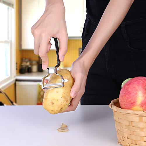 Ultra Sharp Stainless Steel Vegetable Peeler For Potatoes, All Fruits