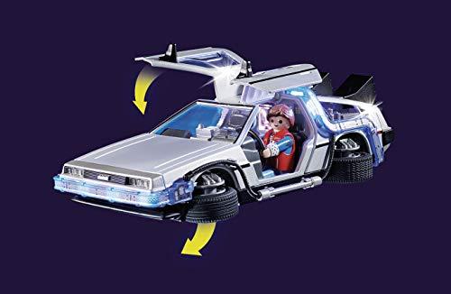 PLAYMOBIL Back to the Future Back to the Future DeLorean, A partir de 6 años (70317)