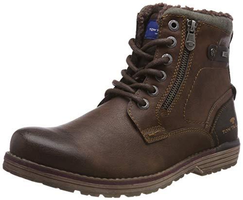 TOM TAILOR Herren 5880804 Klassische Stiefel, Braun (Rust 00066), 43 EU