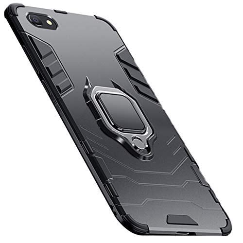 Gxy Mobile Phone Case Drop Shell iPhone stekker, silicone, incl. houder, zwart