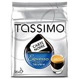 Tassimo - Carte noire expresso decafeine pack de 6, 6x 16t-discs