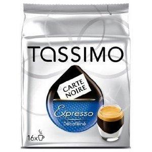 Tassimo Carte Noire Expresso decafeine, 6er Pack, 6x 16T-Disc passend