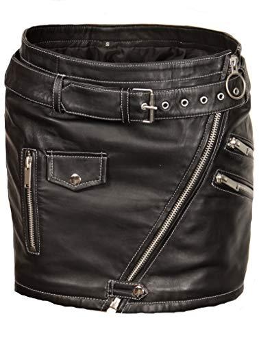 Be Noble Lederrock als kurzer Minirock in ECHT-Leder (S)