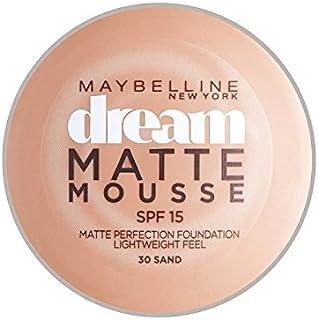 メイベリン夢のマットムース土台30砂の10ミリリットル x2 - Maybelline Dream Matte Mousse Foundation 30 Sand 10ml (Pack of 2) [並行輸入品]