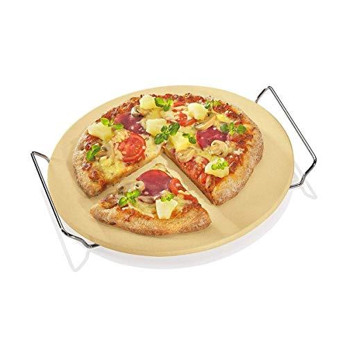 Berndes P502028 BBQ Pizzastein mit Gestell