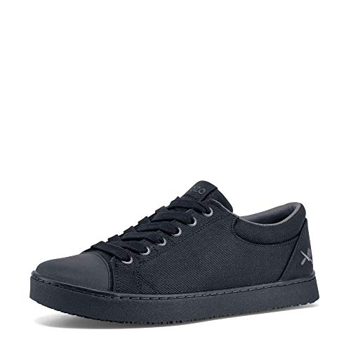 MOZO Men's Grind Food Service Shoe, Black, 10