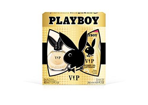 Playboy Female Playboy Vip Female 2pc Set - 1.3 Ounce Eau De Toillette, 8.4 Ounce Shower Gel, 9.7 Ounce