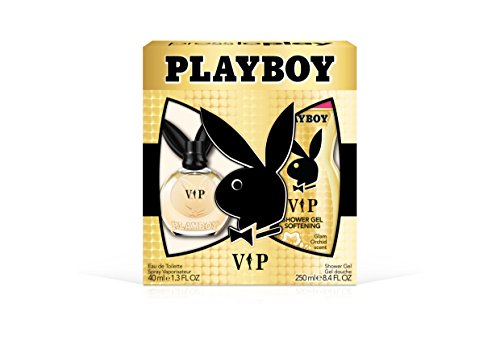 Playboy Female Playboy Vip Female 2pc Set - 1.3 Ounce Eau De Toillette, 8.4 Ounce Shower Gel, 9.7 Ounce