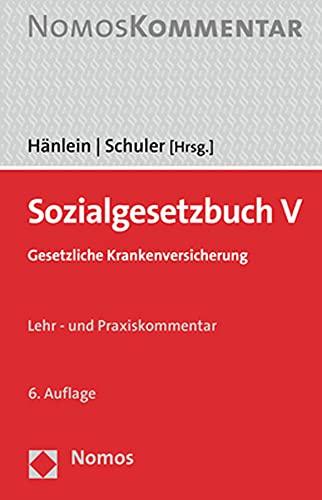 Sozialgesetzbuch V: Gesetzliche Krankenversicherung
