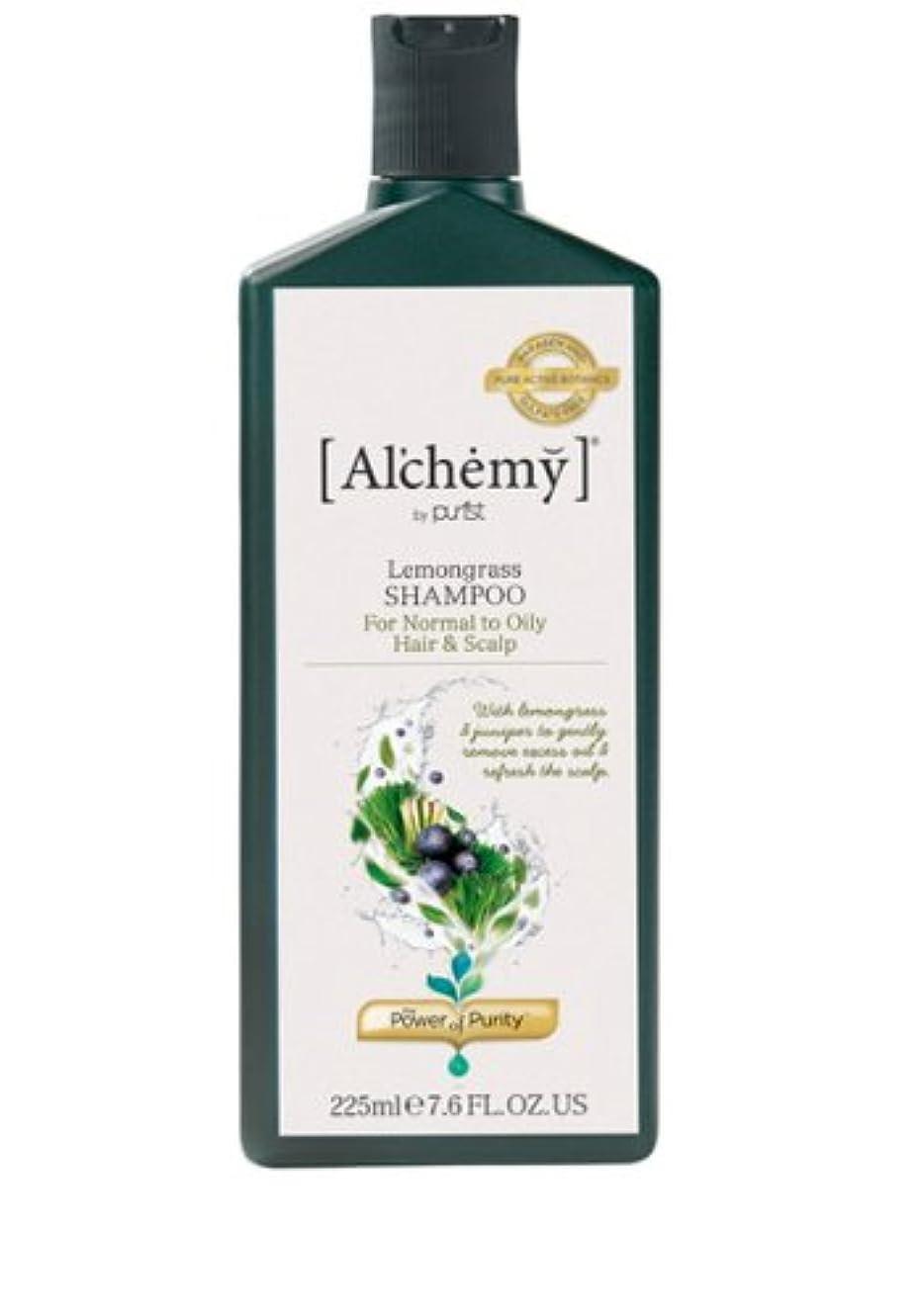 バックグラウンド転送結核【Al'chemy(alchemy)】アルケミー レモングラスシャンプー(Lemongrass Shampoo)(オイリー髪用)225ml