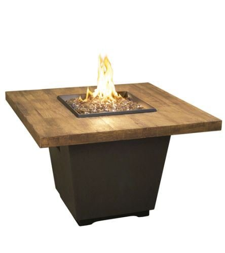Find Bargain American Fyre Designs 36 French Barrel Oak Cosmopolitan Square Firetable - Liquid Prop...