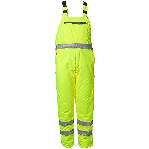 Planam Winter Latzhose 'Warnschutz', Größe XXL in gelb, 1 Stück, 2060060