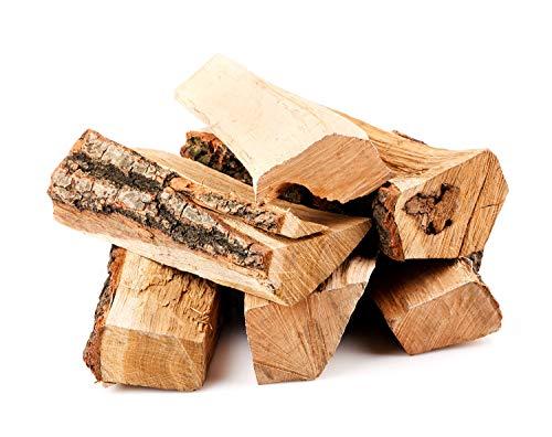 mituso brandhout 30 kg, brandhout gedroogd en klaar voor de oven, beuken eiken essenhout, ideaal voor open haard, kampvuur, vuurschalen, om te roken en te grillen