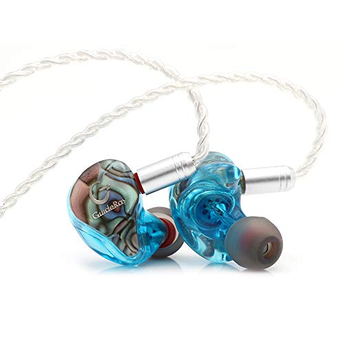 Linsoul GuideRay GR-i Series DD+BA Hybrid Dual Driver In-Ear Earphone with Detachable 2 Pin 0.78mm Cable (GR-i58 with mic)