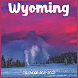 Wyoming Calendar 2021-2022: April 2021 Through December 2022 Square Photo Book Monthly Planner Wyoming small calendar