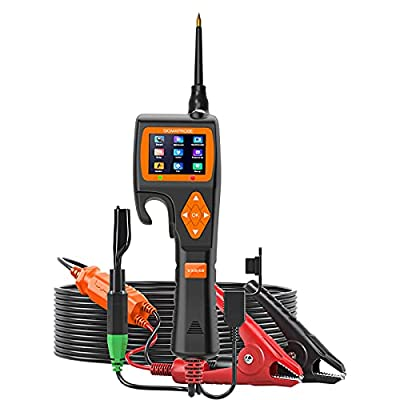 VXDAS SIGMAPROBE Power Circuit Tester Probe Kit, Automotive Breaker Finder Intelligent 9-30V AC/DC Current Resistance Circuit Multimeter Tester Fuel Injector Relay Testing with Oscilloscope Mode
