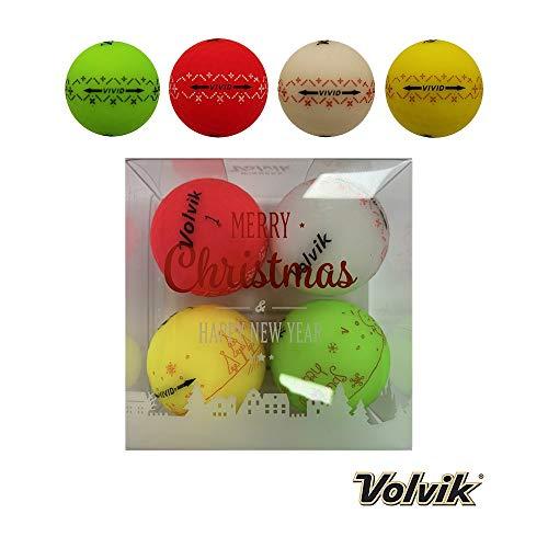 Volvik Vivid Golfbälle, Geschenkpackungen, Unisex, Xmas, 1DZ