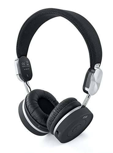 Muse M-268BT - Auriculares inalámbricos Stereo con Bluetooth, Negro