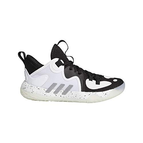 adidas Harden Stepback 2 C, Zapatillas de Baloncesto, NEGBÁS/Plamet/FTWBLA, 33.5 EU