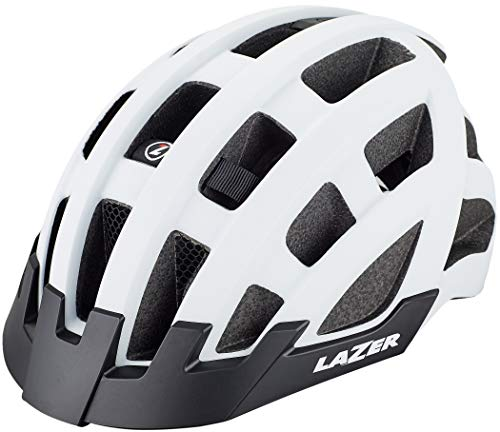 Lazer Compact Deluxe Helm Matte White 2021 Fahrradhelm