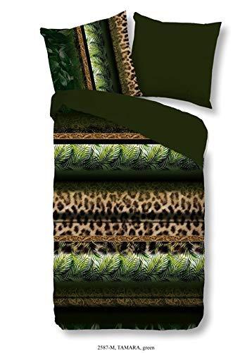 Pure Microfaser Bettwäsche 2 teilig Bettbezug 135 x 200 cm Kopfkissenbezug 80 x 80 cm Tamara 2587.44.08 Multi