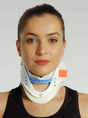 Filfeel Neck Brace Neck Support, Cuello Ajustable Brace Tracción Cervical Fijación de la tracción Cervical Cuidado de la Columna Protección correctiva Protección contra el Dolor